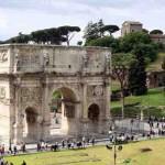 שער קונסטנטין ושער טיטוס - אייל הסעות וטיולים ברומא