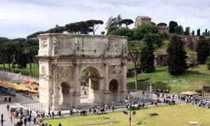 שער קונסטנטין ושער טיטוס