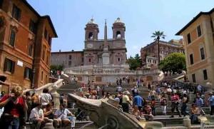 המדרגות הספרדיות - אייל הסעות וטיולים ברומא