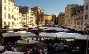 קמפו דה פיורי - אייל הסעות וטיולים ברומא